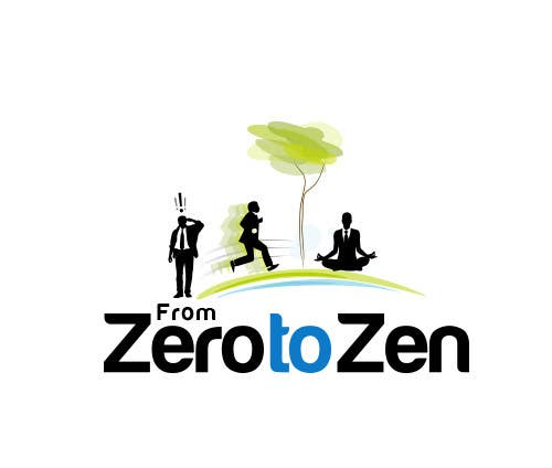 #44 for Illustration Design for From Zero to Zen by KreativeAgency
