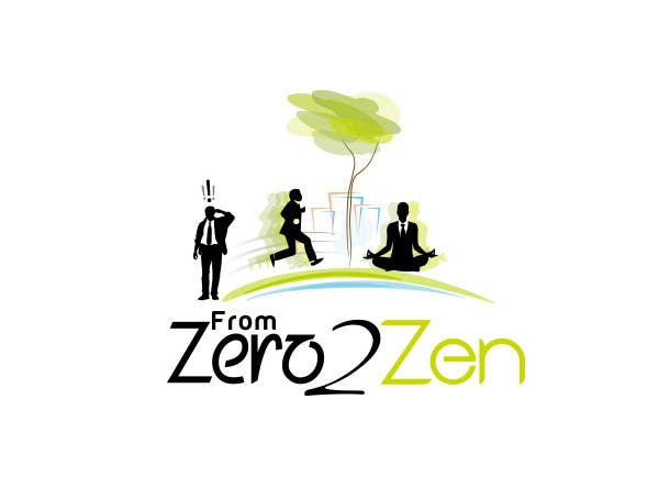#65 for Illustration Design for From Zero to Zen by KreativeAgency
