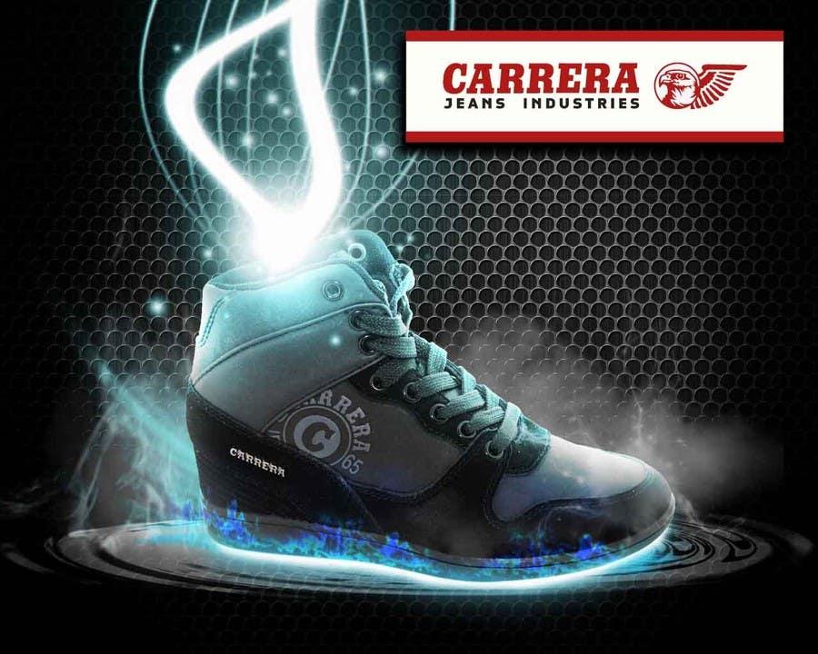 Penyertaan Peraduan #                                        18                                      untuk                                         Poster Graphic Design for Carrera Shoes