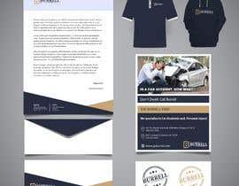 #33 dla Develop a brand identity for Personal Injury (Car Wrecks) Law Firm przez graphiceager