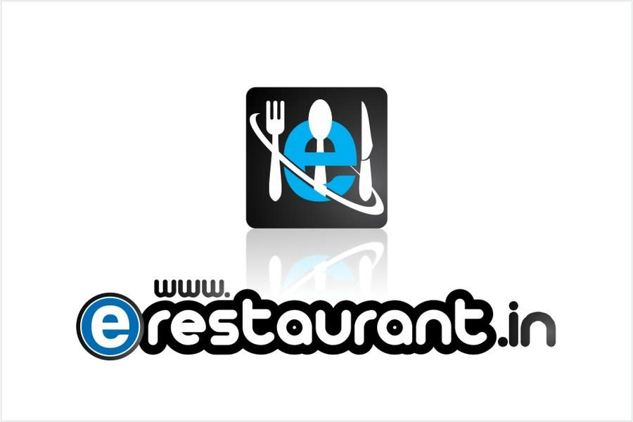 #133 for Logo Design for www.erestaurant.in by oxygenwebtech