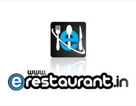 #133 cho Logo Design for www.erestaurant.in bởi oxygenwebtech