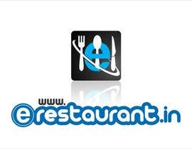 #132 para Logo Design for www.erestaurant.in por oxygenwebtech