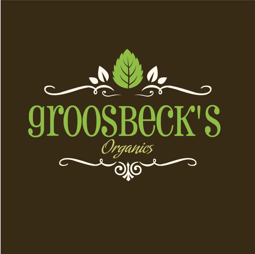 Penyertaan Peraduan #                                        19                                      untuk                                         Design a Logo for Groosbeck's Organics