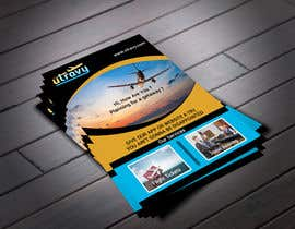 #64 untuk Design a Flyer for a traveling company oleh abuubaida921