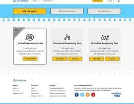 Nro 5 kilpailuun Design 4 pages for an IQ test website käyttäjältä revolutes