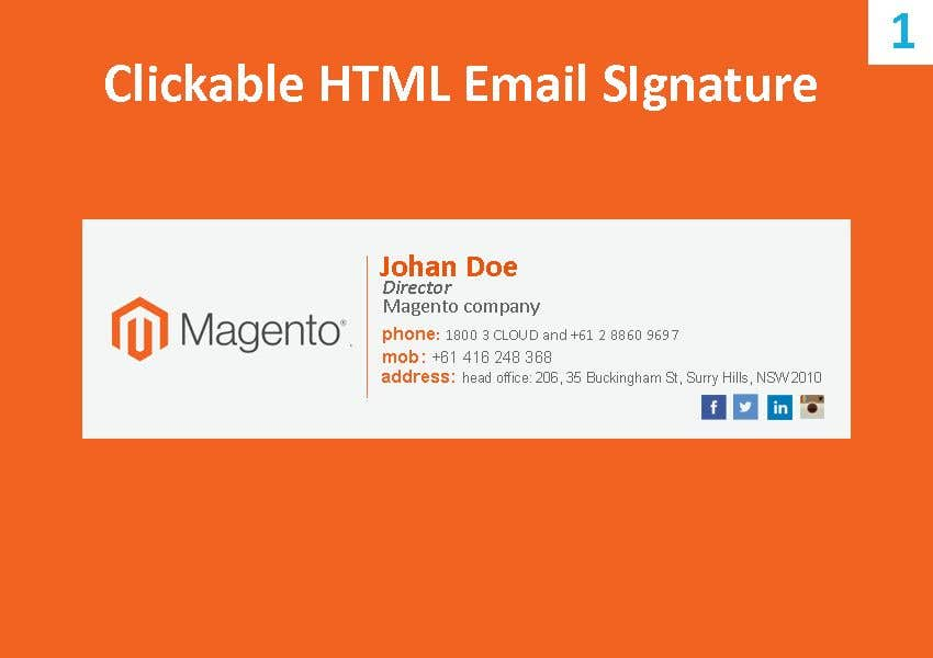 Entry #172 by kowsur777 for Develop Two Logos, HTML Email Signatures ...