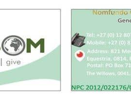 Nro 9 kilpailuun Design some business cards and Stationery(letterhead and powerpoint design) for non-profit company #151117 käyttäjältä timakoncept