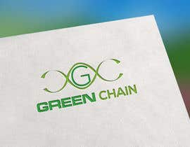 #163 for Green Chain Logo Design! af osthirbalok