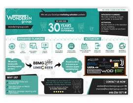 #10 pentru Design a 1 Sheet Marketing Flyer to Promote Our Business Services de către syedanooshxaidi9
