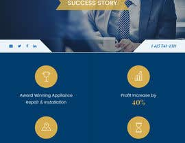 wabdesigner tarafından Design a Banner for a Customer Success Story için no 21