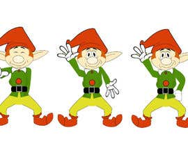 sonalfriends86 tarafından Friendly cartoon elf - Dancing the Nae Nae için no 6