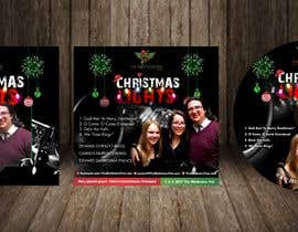 #66 for FAST turnaround - Christmas Jazz CD design using attached templates, PROVIDE editable graphic (replace photo later) by jamiu4luv