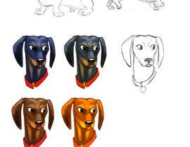 #4 for design sausage dog characters by Ladygothic92