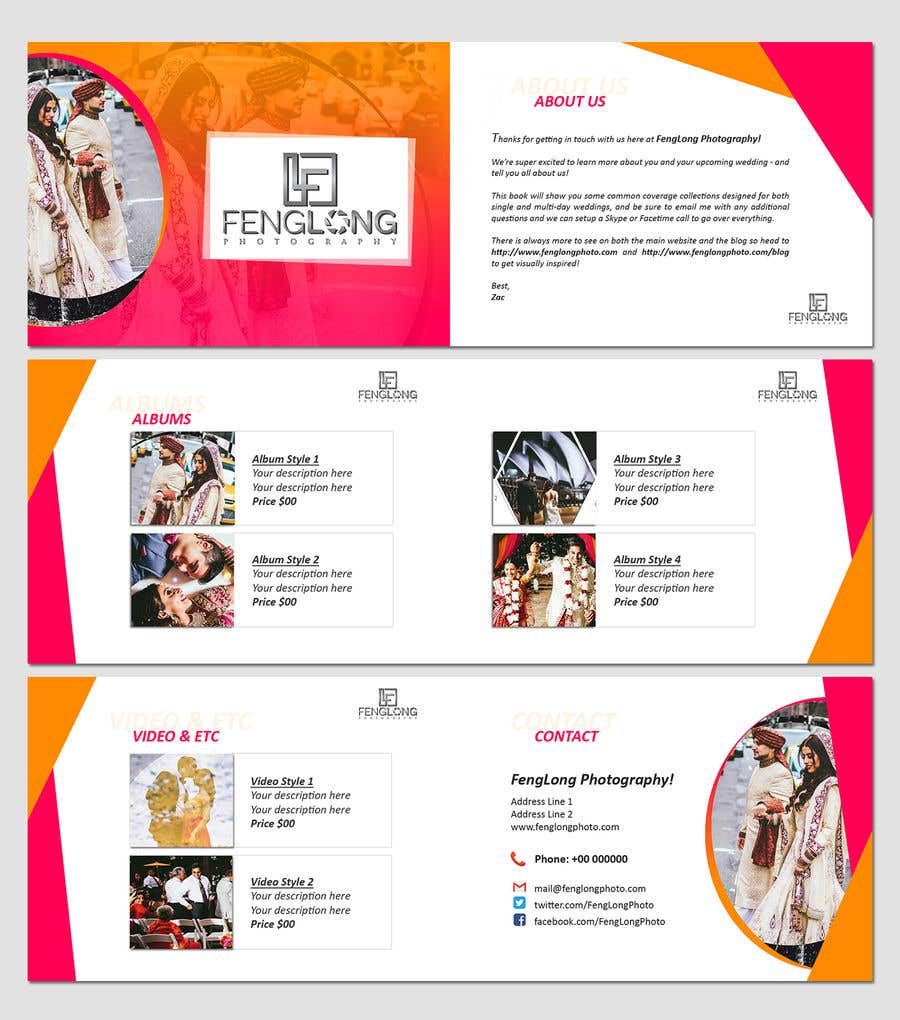 entry 15 by sujithnlrmail for design pricing brochure pdf freelancer