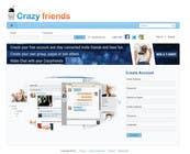 Graphic Design Contest Entry #281 for Logo Design for www.crazyfriends.com