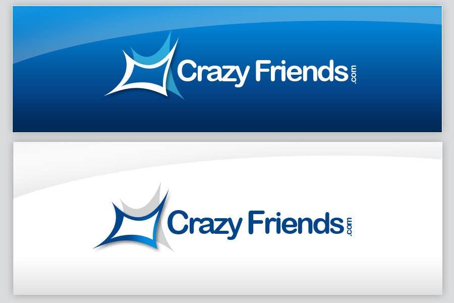 Contest Entry #                                        141                                      for                                         Logo Design for www.crazyfriends.com