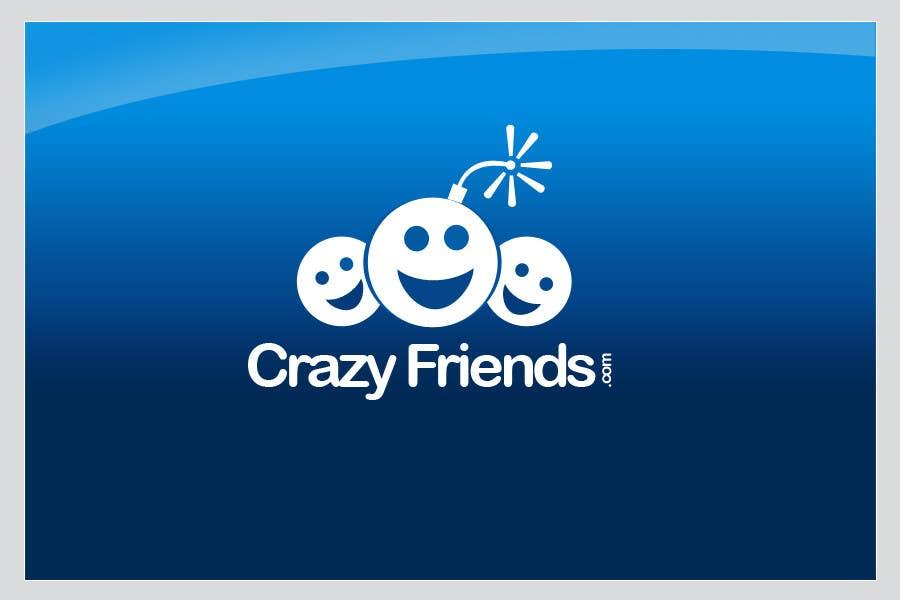 Contest Entry #                                        220                                      for                                         Logo Design for www.crazyfriends.com