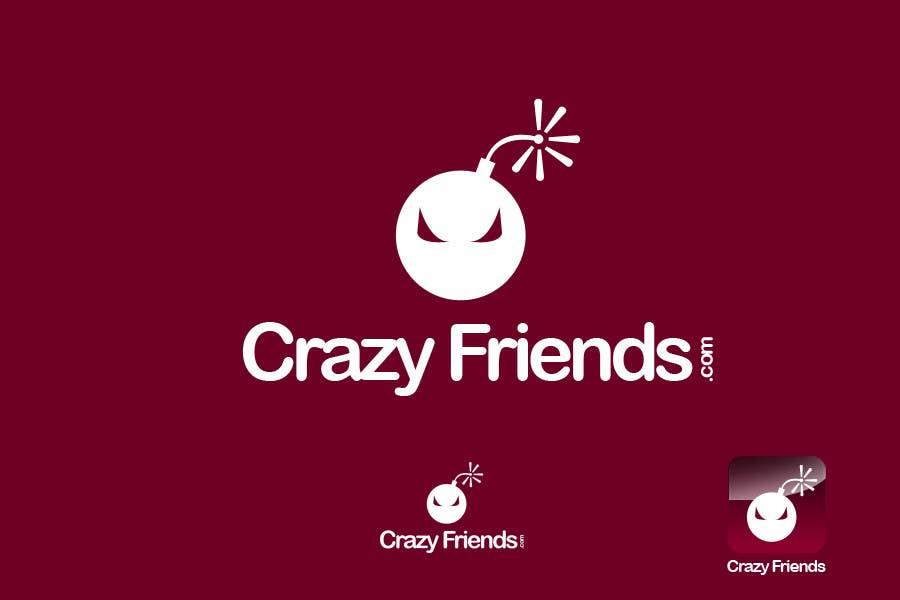 Contest Entry #                                        219                                      for                                         Logo Design for www.crazyfriends.com