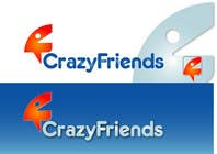Bài tham dự #307 về Graphic Design cho cuộc thi Logo Design for www.crazyfriends.com