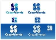 Bài tham dự #207 về Graphic Design cho cuộc thi Logo Design for www.crazyfriends.com
