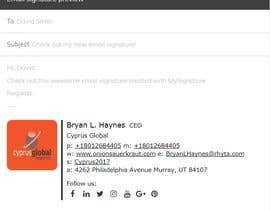 #19 cho Email Signature for outlook bởi Joyanto52