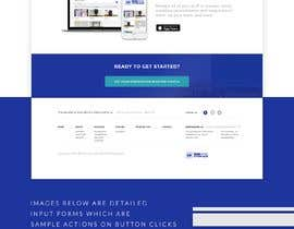 #34 for Homepage UI and Design for a new website by dnljhn