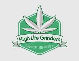 #26 untuk Logo for High Life Grinders oleh medazizbkh