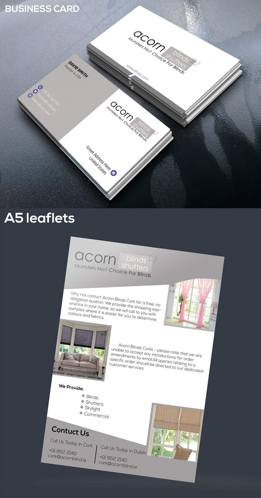 Entry #102 by mukter728 for Design some Business Cards | Freelancer