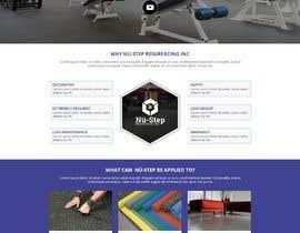 #31 cho Design a website for Nü-step Resurfacing Inc. bởi WebCraft111