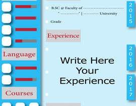 #2 dla Make a resume CV przez ZozGalal