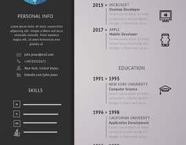 #13 dla Make a resume CV przez lgharibashvili