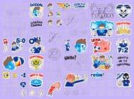 My Levski, My Vibe- Sticker Pack için Graphic Design17 No.lu Yarışma Girdisi