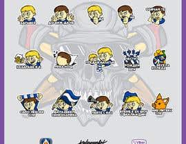 kaloyanart1914 tarafından My Levski, My Vibe- Sticker Pack için no 13