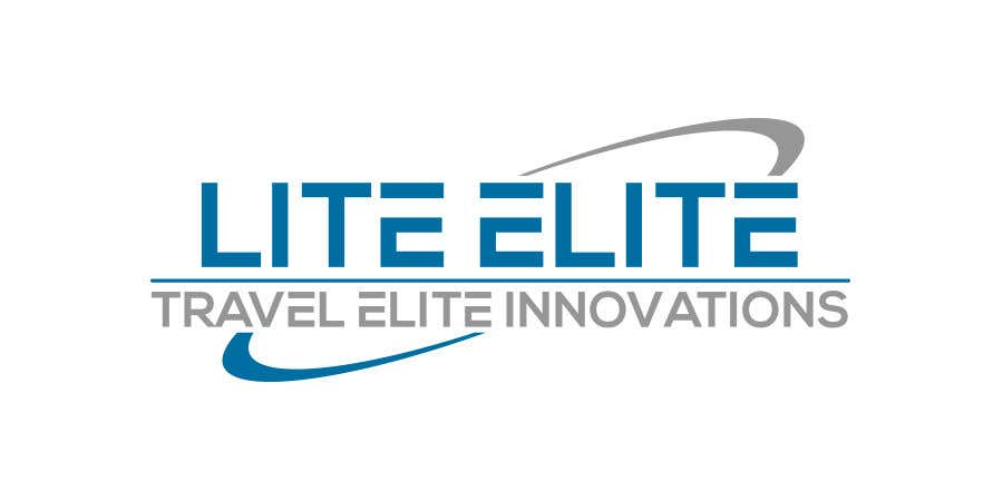 "Penyertaan Peraduan #14 untuk Product is a Travel Mirror. Logo needs to have the product name and company name.   Product Name: ""Lite Elite"". The company name is ""Travel Elite Innovations"""