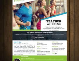 #40 for Flyer for schools fitness training by petersamajay