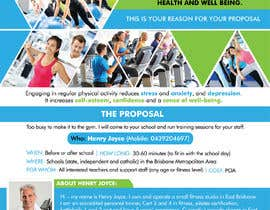 #38 for Flyer for schools fitness training by savitamane212