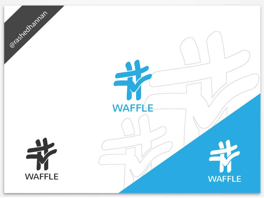 Contest Entry #                                        807                                      for                                         Waffle App Logo