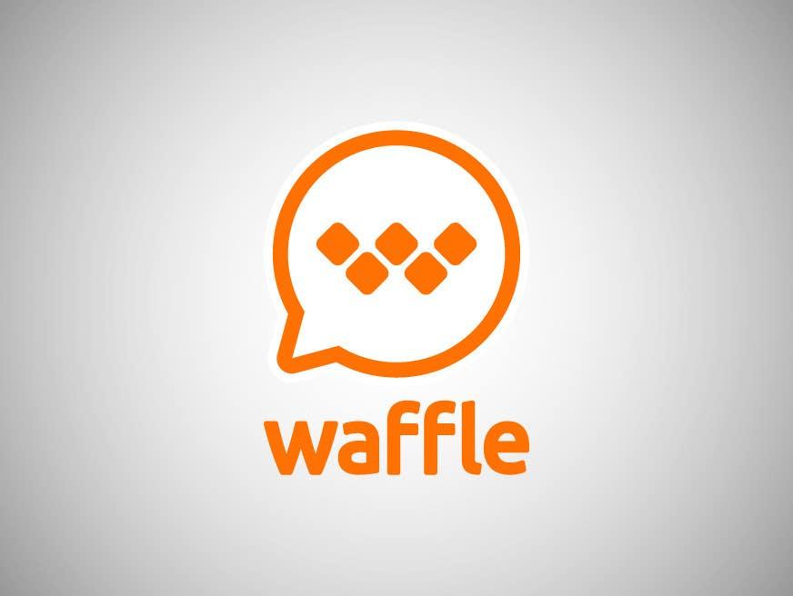 Logo Design Inscrição no Concurso  #903 para Waffle App Logo