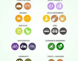 #9 untuk Design Icons for app categories oleh vaishaknair