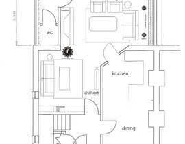 #11 for Extension room layout / interior by georgebaeram