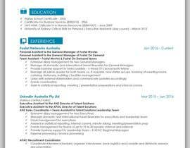 #28 για Create an updated, modernised version of my current RESUME / CV από mhandalia