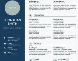 #5 για Create an updated, modernised version of my current RESUME / CV από kamifari