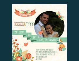 FlamiingoDesign tarafından Design an Email Wedding invitation için no 8