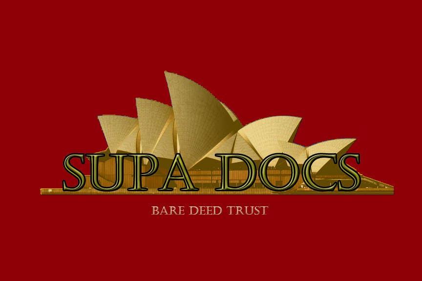 Inscrição nº 209 do Concurso para Logo Design for Supa Docs