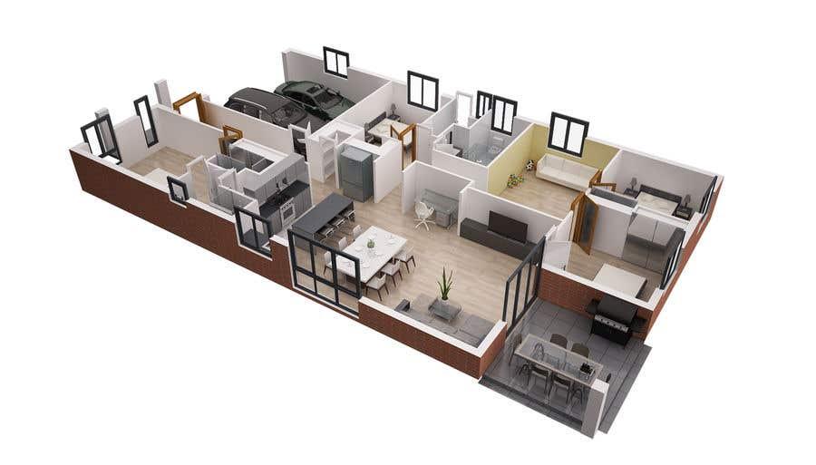 Entry 7 By Bdesign33 For 3d Floor Plan Of Nursing Home Freelancer