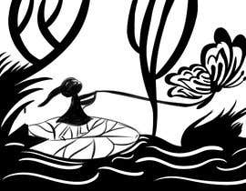 #4 for Fairy tale illustration (black+white, contour style) by ldburgos