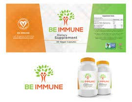 #1 cho Supplement Product Label Design - Be Immune bởi henmorales