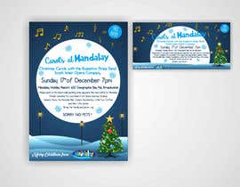 istykristanto tarafından Design 2x Flyers for Christmas Carols at Mandalay için no 33