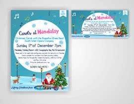 istykristanto tarafından Design 2x Flyers for Christmas Carols at Mandalay için no 37
